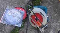 red and gray circular saw Surrey, V3W 1Y1