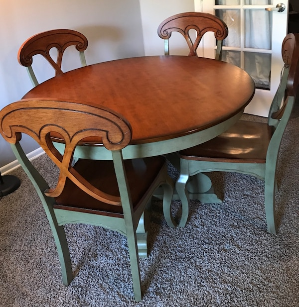 Cool Pier 1 Imports Marchella Collection Sage Round Dining Table Set Pdpeps Interior Chair Design Pdpepsorg