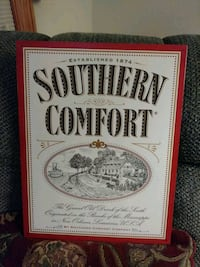 Southern Comfort Metal Sign Seaford, 19973