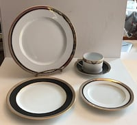 Porcelain Dinnerwear set by Bernardaud Limogue France Pickering, L1V