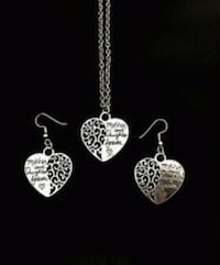 Mother and Daughter Forever Necklace/Earring Set Norfolk, 23518