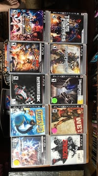 PS3 games $21 each Omaha, 68104