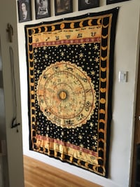 Astrology tapestry 52.5 inches by 75 inches Vancouver, V6H 1L3