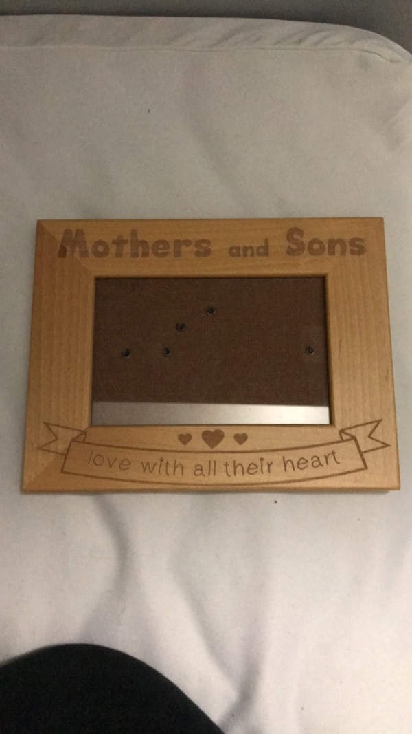 4x6 Mother And Sons Picture Frame Usagé à Vendre à Huntington