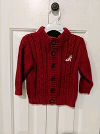 Boys Button down cardigan by Gymboree; size 12-18  Tysons, 22182
