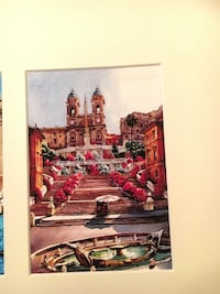 Hand painted water color from Rome, Italy Brandon, 39047