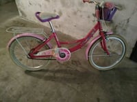 city ​​bike bianca e rosa Marzole, 24030