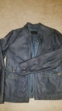 Men's zara leather jacket