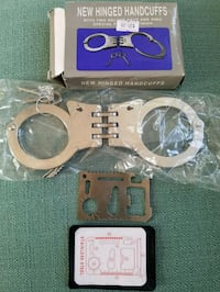 Police Issued Handcuffs With Free Tool Charlotte