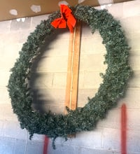 "Northlight 48"" Outdoor Green Canadian Pine Artificial Christmas Wreath Califon, 07830"
