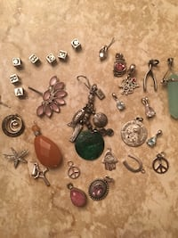 All sterling silver charms. North Babylon, 11703