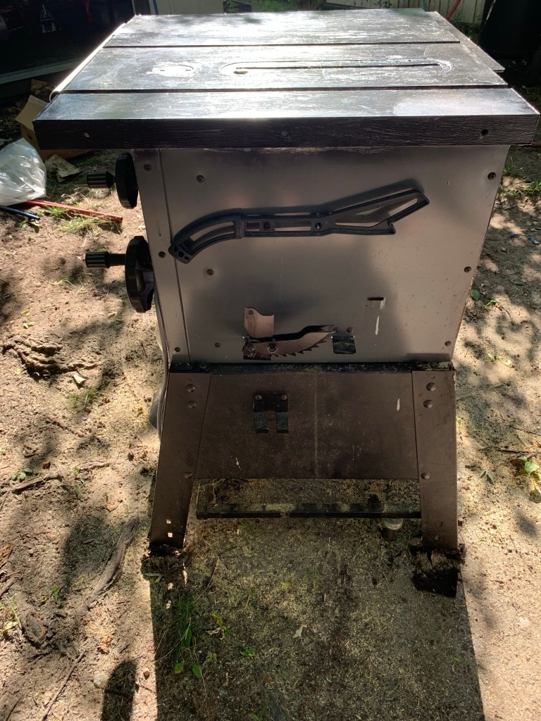 Photo Porter Cable Table Saw