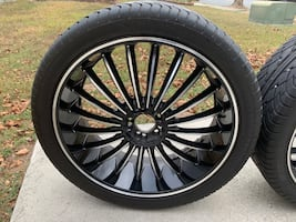 22 inch universal fit rims
