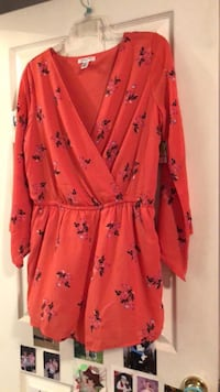 Brand new never worn women's XL romper with tags  Charlotte, 28277