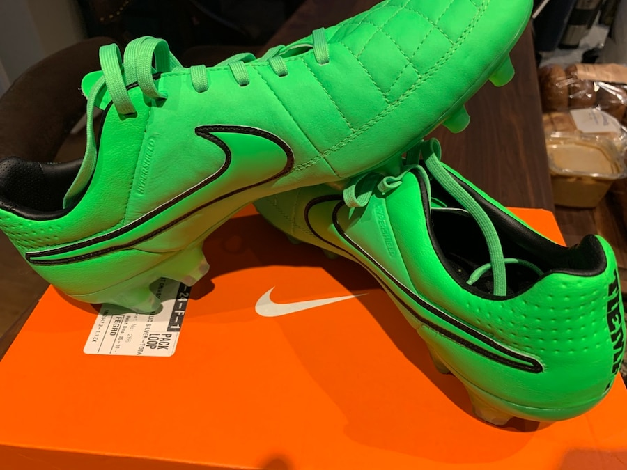 Photo Nike Tiempo Legacy II FG Soccer Cleat Boot Size 10