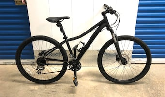 2019 CANNONDALE FORAY 2 24-SPEED HYDRAULIC DISC MOUNTAIN BIKE. EXCELLE