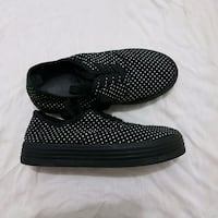 black-and-white slip-on shoes Brossard, J4Z