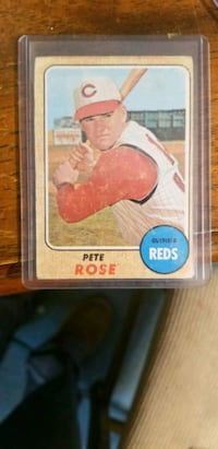 1968 pete rose.. price is firm