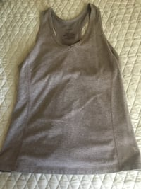 Grey racer back work out tank Size M Amarillo, 79106
