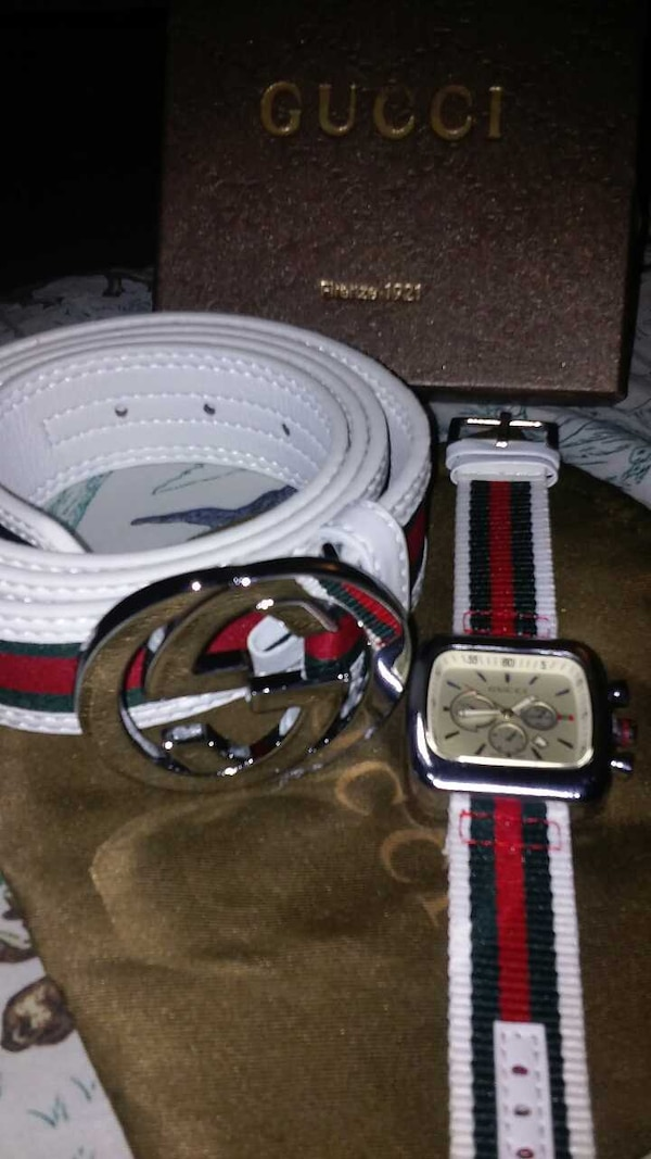 6f0385d9a Used Mens gucci belt and watch set for sale in Silver Spring - letgo