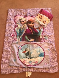 Frozen Anna and Elsa sheet set