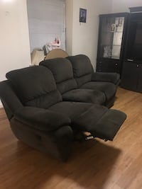 Two recliner sofas. Minor stains. One recliner needs fixing. MUST GO. Price is negotiable. Washington, 20010