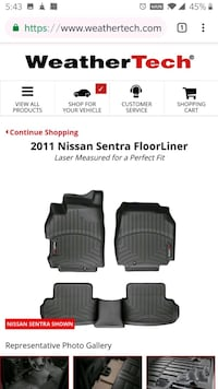WeatherTech for '07-'11 Nissan Sentra Pearl City