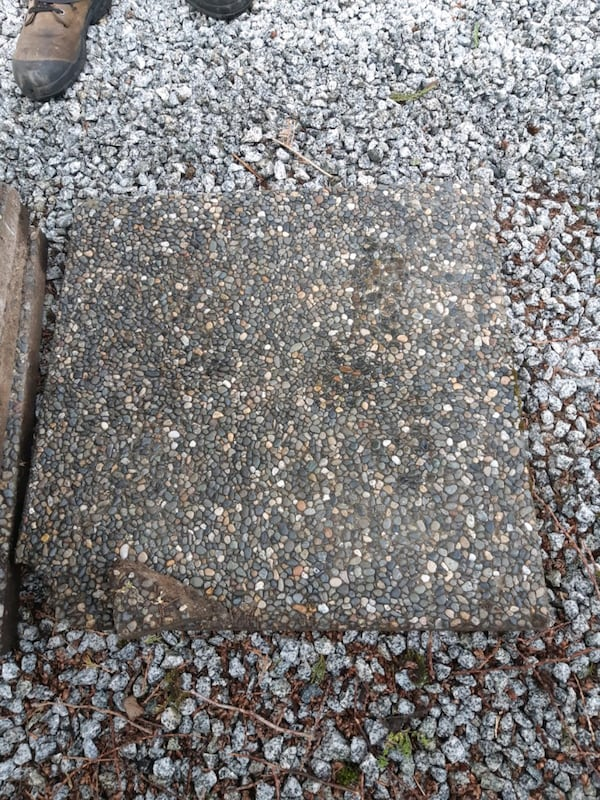 Patio stones(exposed aggregate) 8a6059a8-f758-429a-b44f-6312f6a0d0c1