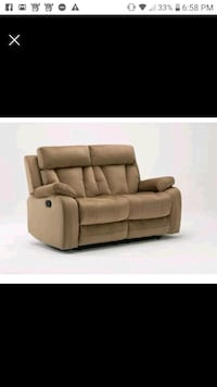 Brand new reclining love seat Hooksett, 03106