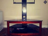black and red TV stand Norfolk, 23504