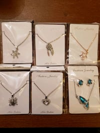 Necklaces $6 ea or 2 for $10  great stocking stuffer!!  delivery inc. Edmonton, T6W 1A3