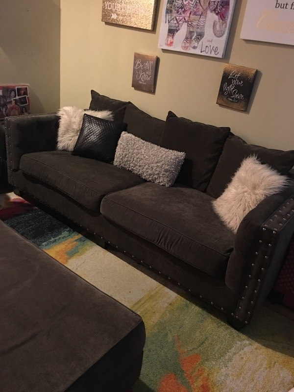 Barely Used Couch Set Couch Oversized Chair And Ottoman