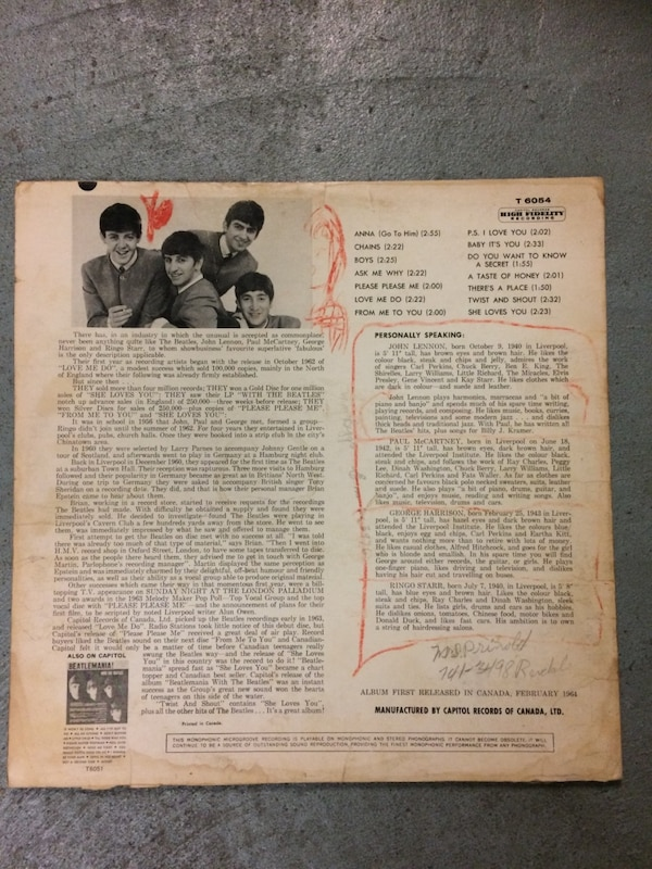 Beatles - Twist and Shout Album SCRATCHED 95545163-5823-4f6d-8402-9e78299d9a74