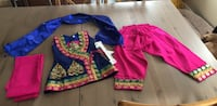 Toddler's anarkali 18 to 24months Whitby, L1N 8K1