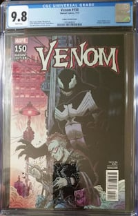 Marvel Comics VENOM #150 James Stokoe 1:25 Variant NM/Mint 9.8 Eddie B Massachusetts
