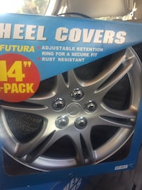 Wheel covers 14 and 15 inch  Sunnyvale, 94087
