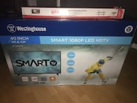 40 inch sealed TV and wall mount Courtice, L1E 3B5