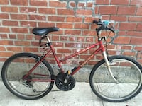 red and black hardtail mountain bike , 11229