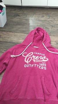 Pink and white  pullover hoodie Essa, L0M