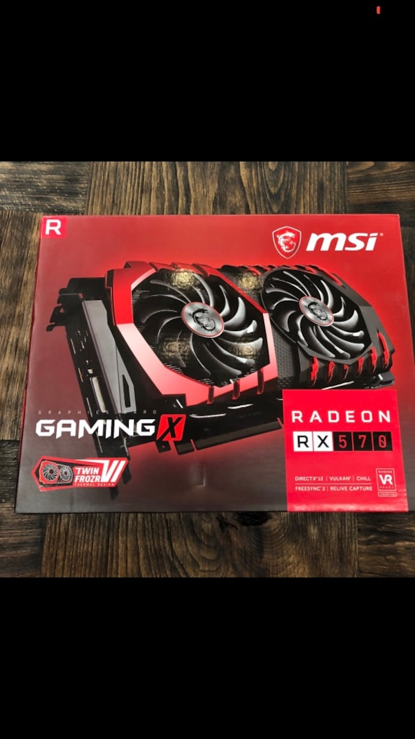 MSİ RADEON RX 570 GAMING X 4 GB ACİLL SON FİYAT
