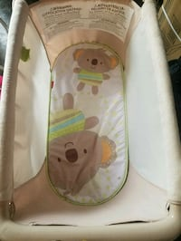 baby white and brown bassinet Germantown, 20874