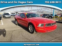 2006 Ford Mustang V6 Standard Coupe LAS VEGAS
