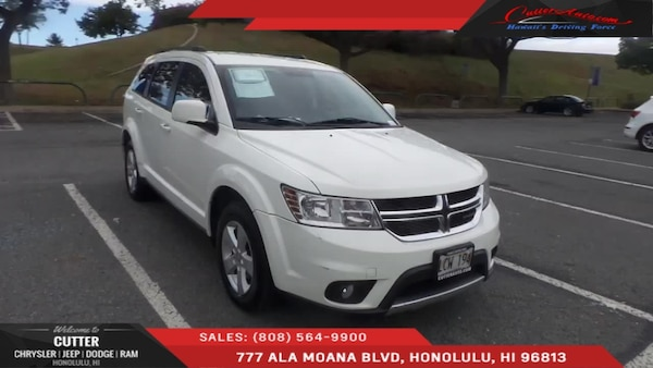 Cutter Dodge Honolulu >> Dodge Journey 2012