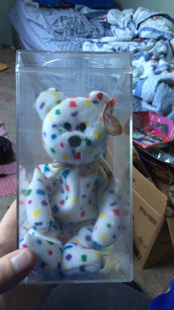 f6ac62c534d Used Rare Ty 2k beanie baby with error for sale in Hampton - letgo