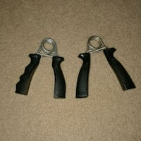 Hand grip forearm exercisers