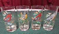 Vintage Bird Tumbler Glasses Nashville