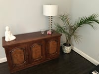 Wooden console tv stand or china cabinet  Bethesda, 20817