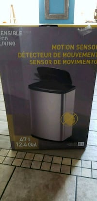 Motion sensor trash can new in box 47 ltrs  Peoria, 85381