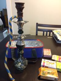 hookah with carrying case