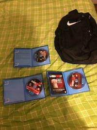 PS4 games Nike bookbag in almost perfect condition New York, 11429